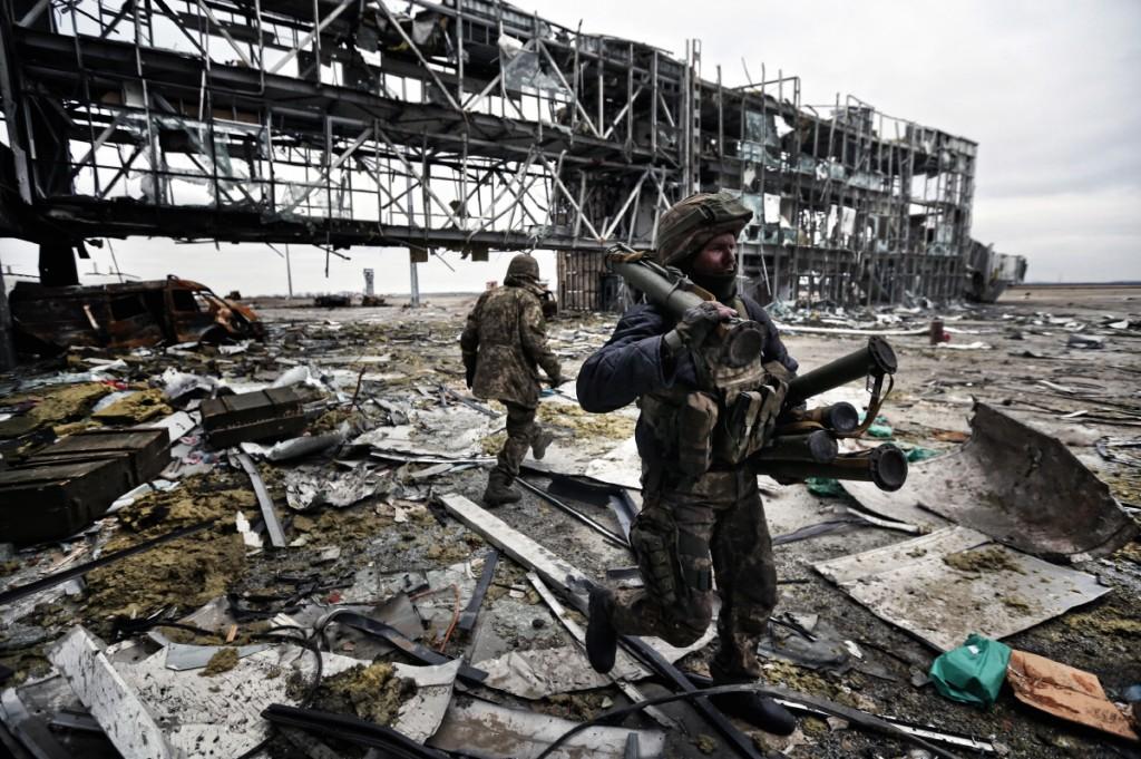 © Сергей Лойко. Донецкий аэропорт, Украина